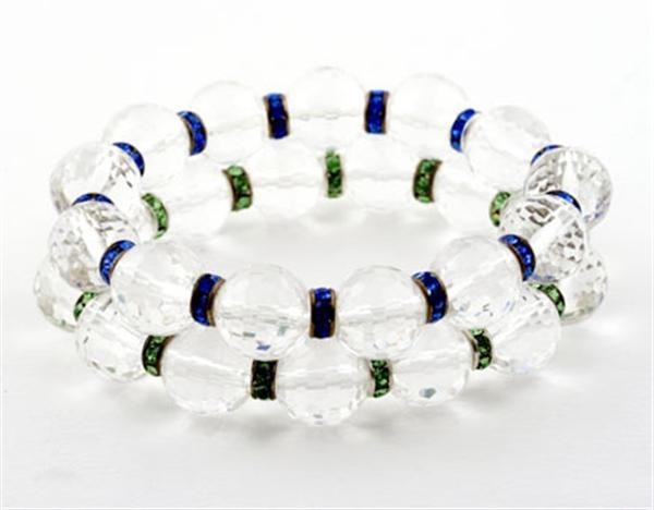 Blue Ice Crystal Quartz Bracelets