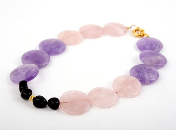 Strawberry Grape Crush Necklace